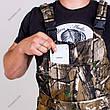 Костюм Камуфляжний Зимовий Не Промокаемый Для Полювання та Риболовлі з Комбінезоном Алова Рибак, фото 6