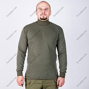 Гольф утепленный, военный Хаки, фото 2