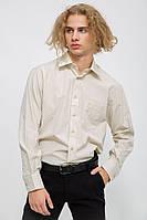 Рубашка мужская 113R295 цвет Бежевый, фото 1