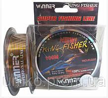 Волосінь Winner King Fisher 0.35 мм, 100 м. multicolor.