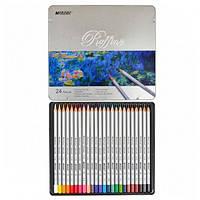 Цветные карандаши MARCO (Марко) Raffine 7100-24TN, Набор 24 цвета