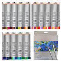 Цветные карандаши MARCO (Марко) Raffine 7100-72CB, Набор 72 цвета