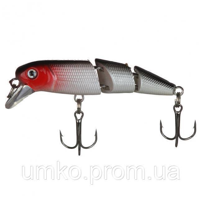 Воблер Sams Fish потрійний 1 м, 8 гр, 60 мм SF23674 в асортименті