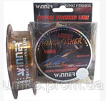 Волосінь Winner King Fisher 100м 0,18 мм 4,9 кг multicolor