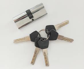 Цилиндр Avers DM-80(50/30)-CR-ключ-ключ