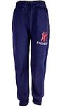 Спортивные штаны на меху детские для мальчика  ,140-146, фото 4