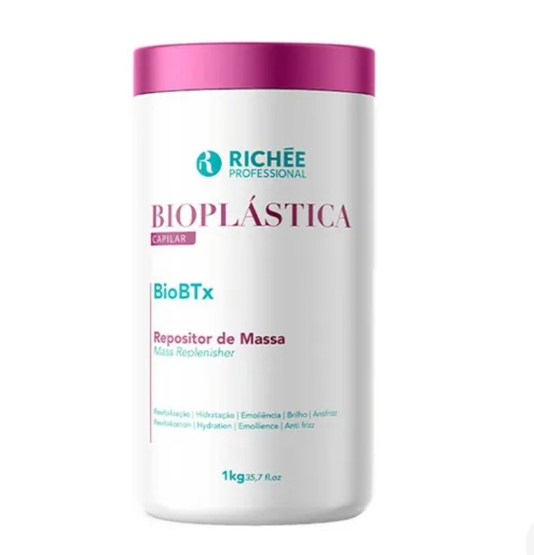 Ботокс для волос Richee Bioplastica Bio btx Repositor de Massa 1000 г