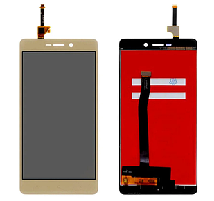 Модуль для Xiaomi Redmi 3, 3S, 3S Prime, 3X золотой, дисплей + сеснсор