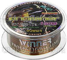Волосінь Winner King Fisher 150м 0,35 мм 14,60 кг Multicolor