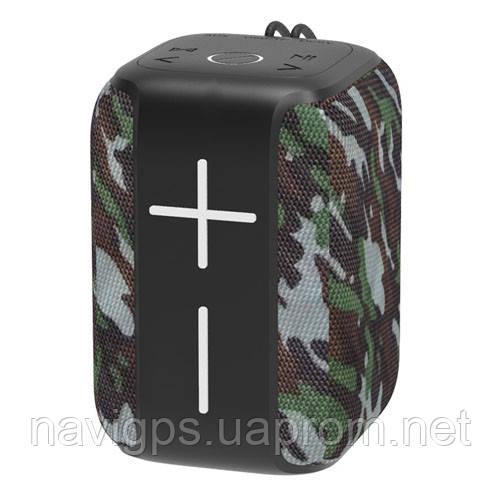 Bluetooth-колонка HOPESTAR-P16, StrongPower, c функцией speakerphone, радио, PowerBank, camuflage