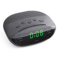 Годинник мережеві VST-908-4 салатові, радіо FM, 220V