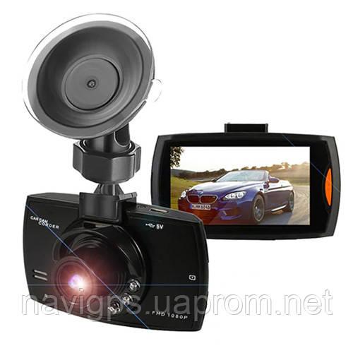 """Автомобильный видеорегистратор 188, LCD 2.4"""", VGA, 1080P Full HD"""