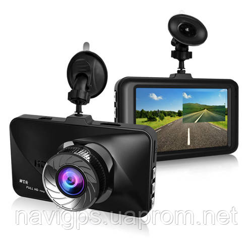 """Автомобильный видеорегистратор T679, LCD 3"""", Angel Lens, 1080P Full HD, металлический корпус"""