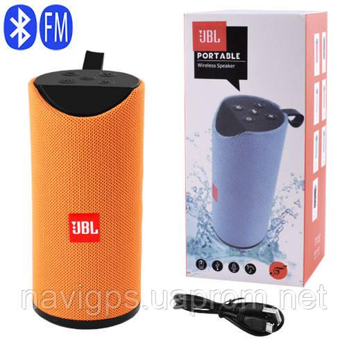 Bluetooth-колонка JBL T113, c функцией speakerphone, радио, orange
