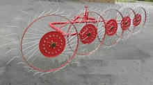 Грабли ворошилки тракторные на 5 колец Agromech