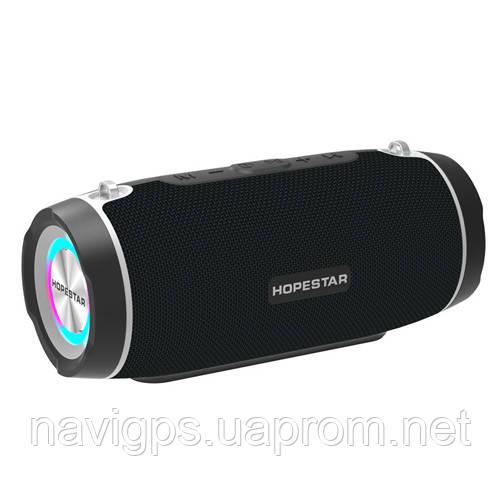 Bluetooth-колонка HOPESTAR-H45 party, StrongPower, c функцией speakerphone, радио, PowerBank, black
