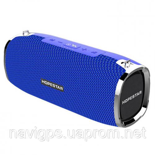 Bluetooth-колонка HOPESTAR-A6, StrongPower, c функцией speakerphone, PowerBank, blue
