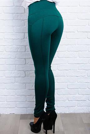 Модные женские  утягивающие джеггинсы-леггинсы в 5-ти цветах  с 42 по 70 размер, фото 2
