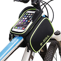 Велосипедна сумка на раму під смартфон B-SOUL 81040