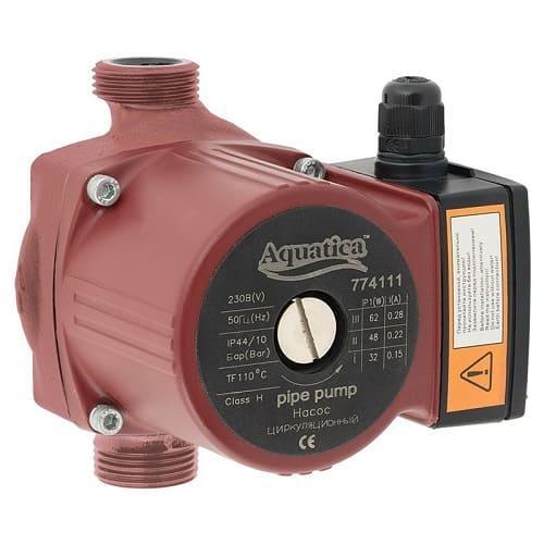 Насос Циркуляционный AQUATICA GPD25-7S (130/180) мм для Системы Отопления