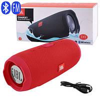 Bluetooth-колонка JBL CHARGE 3, c функцией speakerphone, PowerBank, red, фото 1