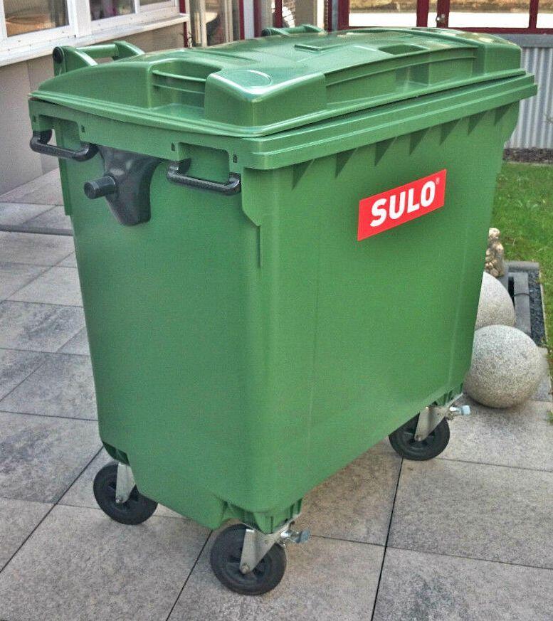 Пластиковий контейнер SULO на 770 л. для сміття