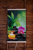 """Інфрачервоний настінний обігрівач-картина """"Гармонія"""", з доставкою по Києву та Україні Тріо, фото 1"""