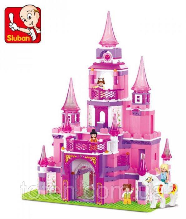Детский конструктор  Sluban M38-B0152 Замок для принцессы, 472 дет