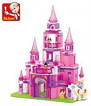 Дитячий конструктор Sluban 619947/M 38 B 0152 Замок для принцеси, 472 дет 17-10