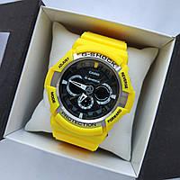 Чоловічий кварцевий наручний годинник Casio G-Shock GA100 RB Military, хакі, фото 1