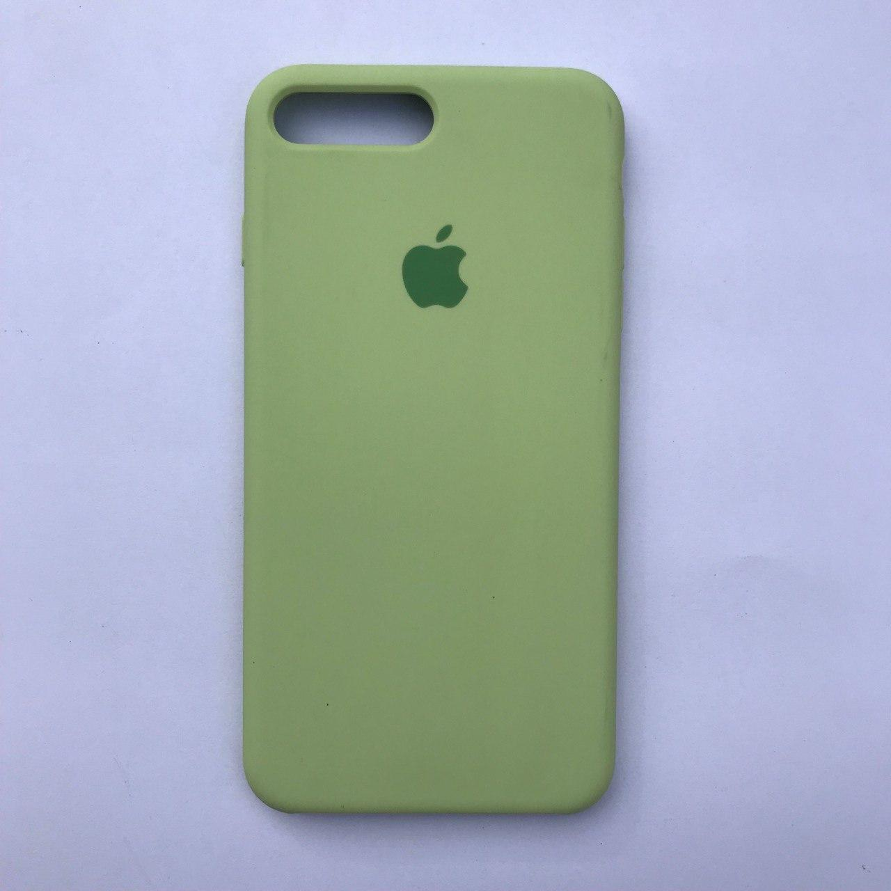 Чехол Silicone Case для Apple iPhone 7 Plus, 8 Plus Avocado