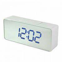 Часы сетевые настольные VST 886Y-6, синие, USB