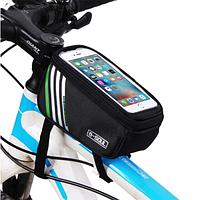 Велосипедна сумка на раму під смартфон B-SOUL 80161