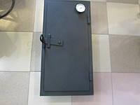 Дверца для коптилки с термометром.Герметичные дверцы. Стальные дверцы для коптильни Херсон