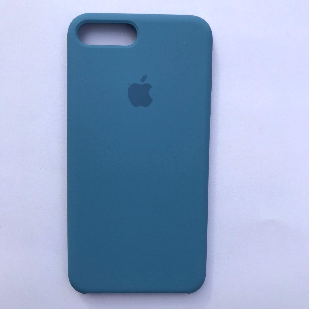 Накладка Silicone Case для Apple iPhone 7 Plus iPhone 8 Plus Azure blue