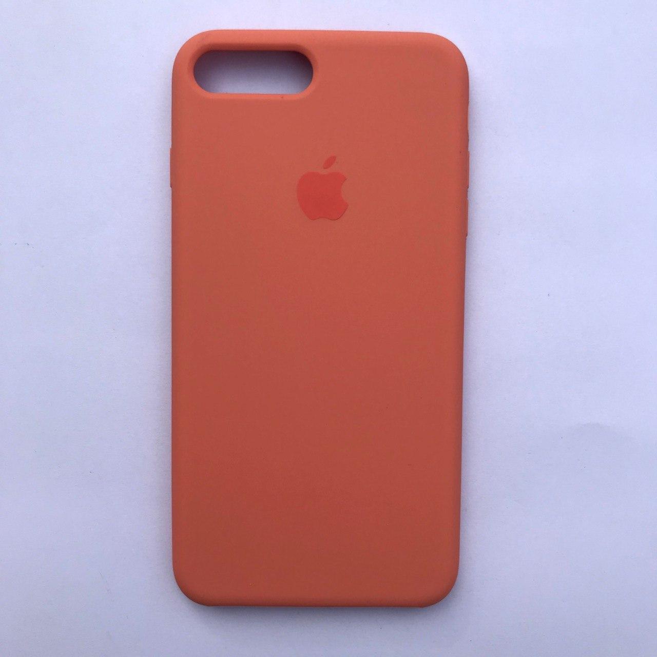 Чехол-накладка Silicone Case для Apple iPhone 7 Plus iPhone 8 Plus Begonia