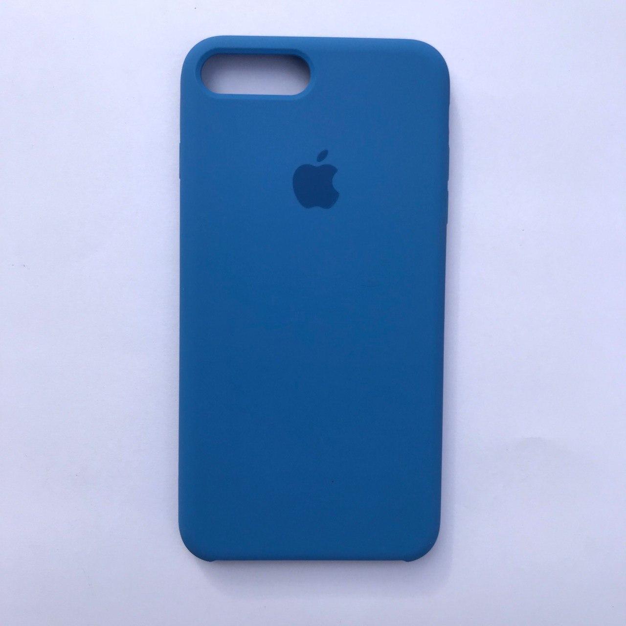 Чехол-накладка Silicone Case для Apple iPhone 7 Plus iPhone 8 Plus Blue Cobalt