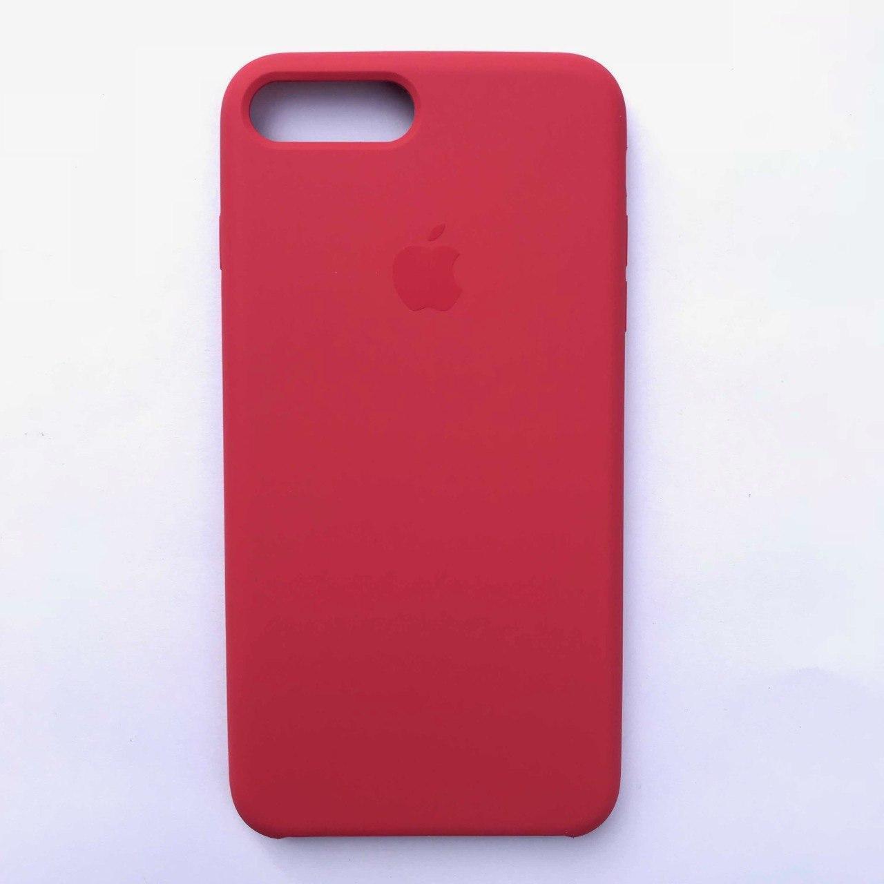 Чехол-накладка Silicone Case для Apple iPhone 7 Plus iPhone 8 Plus Camellia