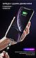Магнитный кабель для быстрой зарядки с поворотной головкой 540° (серебро) 2,4А 1 метр + коннектор iPhone, фото 5