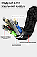 Магнітний USB кабель (срібло) для швидкої зарядки 2,4 А з LED індикацією 1 метр + Micro USB коннектор, фото 3