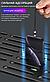Магнітний USB кабель (срібло) для швидкої зарядки 2,4 А з LED індикацією 1 метр + Micro USB коннектор, фото 8