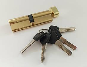 Цилиндр Avers DM-90(55/35С)-С-G-ключ-поворотник