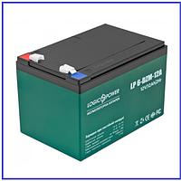 Тяговый аккумулятор LP 6-DZM-12 Ah T2 свинцово-кислотный, фото 1