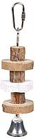 Trixie TX-58959 іграшка для птахів з шкіряною стрічкою (30см)