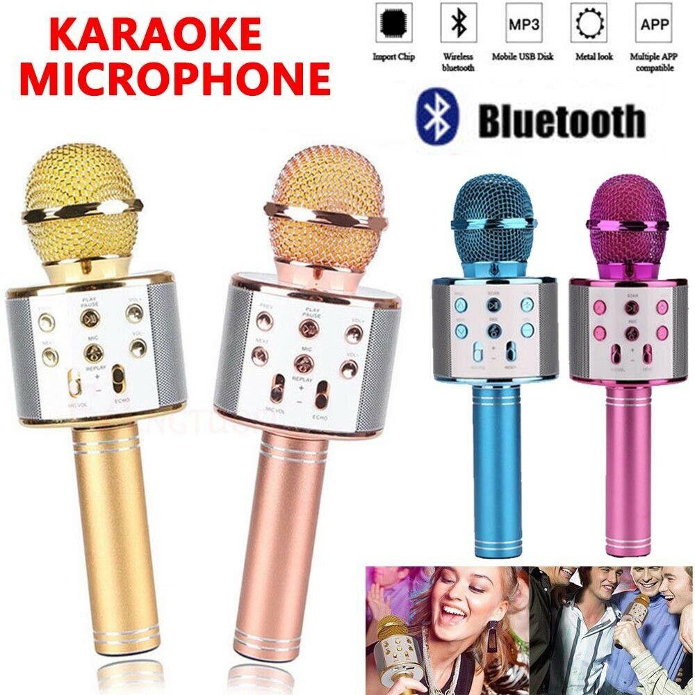 Караоке-мікрофон, бездротової Bluetooth мікрофон WS-858
