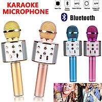 Караоке-мікрофон, бездротової Bluetooth мікрофон WS-858, фото 1