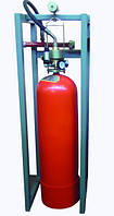 Модуль газового пожаротушения МГП-1-60 коллектор DN32 с СИМ