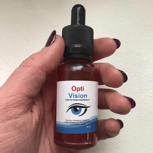 Optivision (Оптивижн) - Капли для восстановления зрения