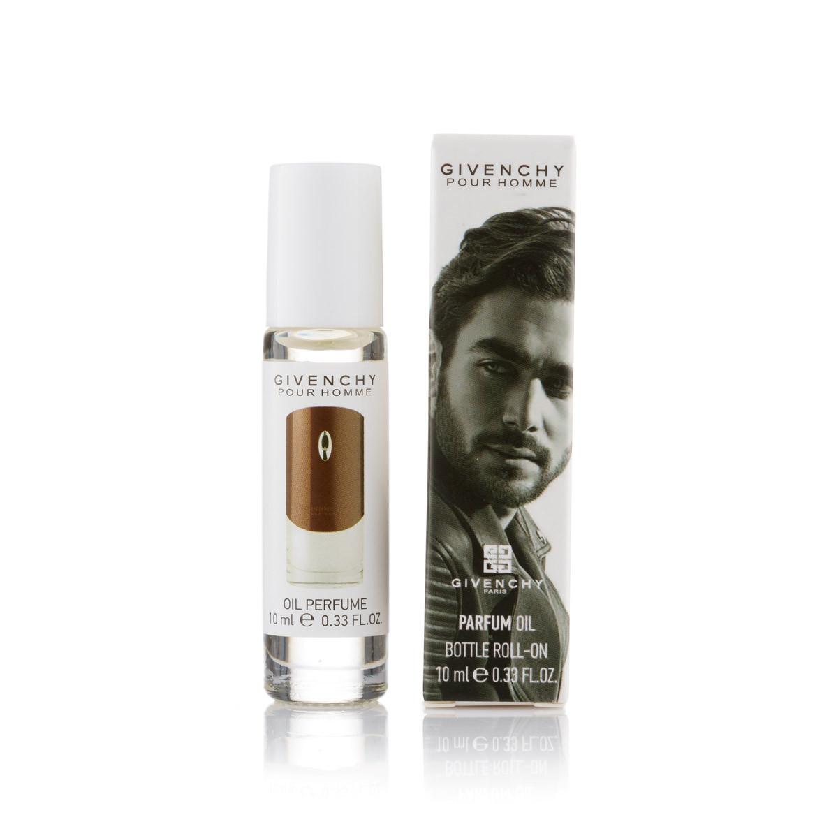 Мужской масляный шариковый парфюм Pour Homme Given. - 10 мл