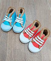 Кеды - ботиночки с мехом,интернет магазин,обувь для новорожденных,детская одежда Турция